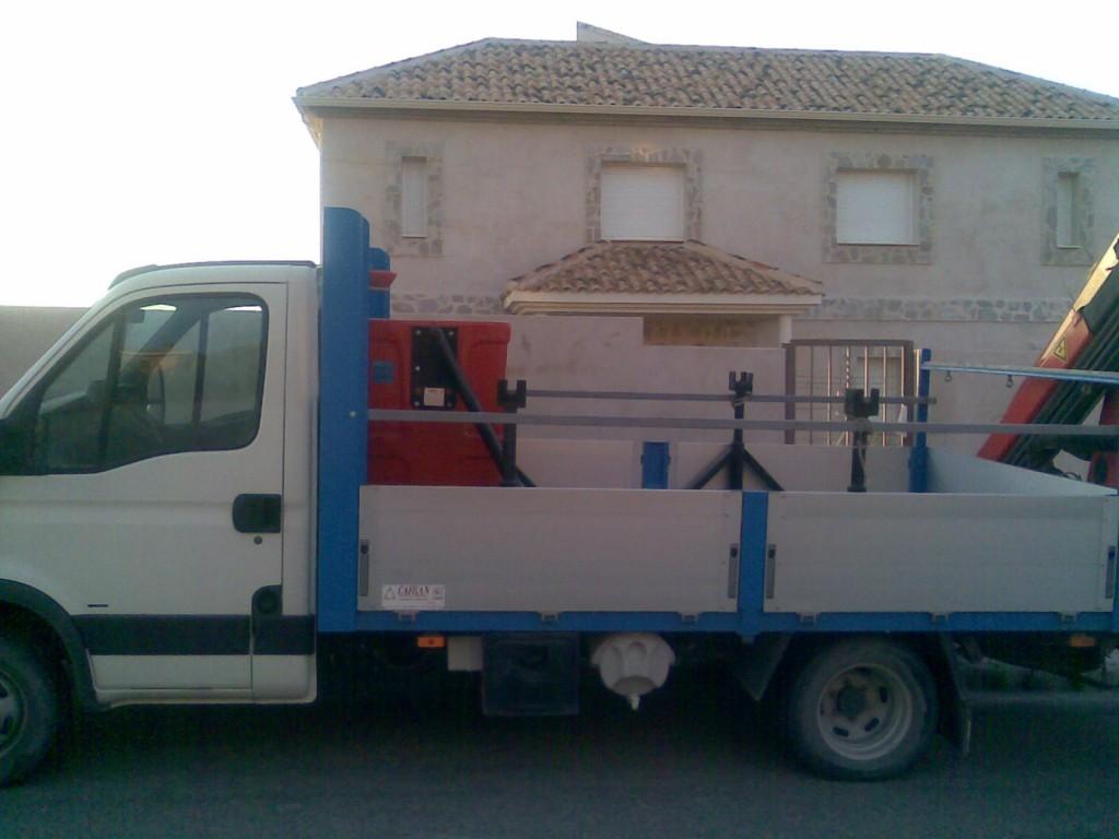 Camion grua cesta Toledo